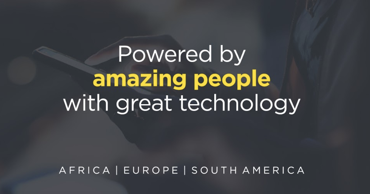 Powered By Amazing People with great technology