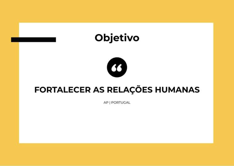 fortalecer relacoes humanas ap portugal