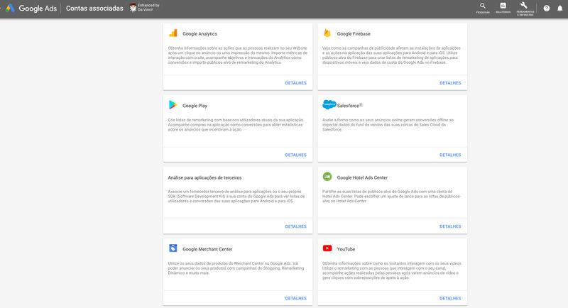 integracao com analytics e outras plataformas