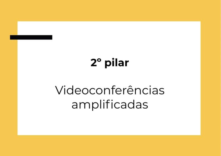 videoconferencias amplificadas
